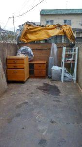 さいたま市にてテレビ、棚等の回収処分のご依頼 お客様の画像