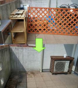 川越市にてテレビ台、ラティス等の回収処分のご依頼 お客様の画像