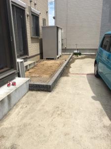 久喜市にて庭石回収の木村様3