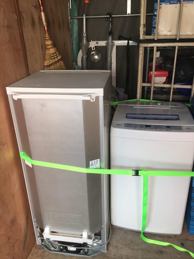 【秩父市】引越しに伴う電化製品(冷蔵庫、洗濯機など)の回収