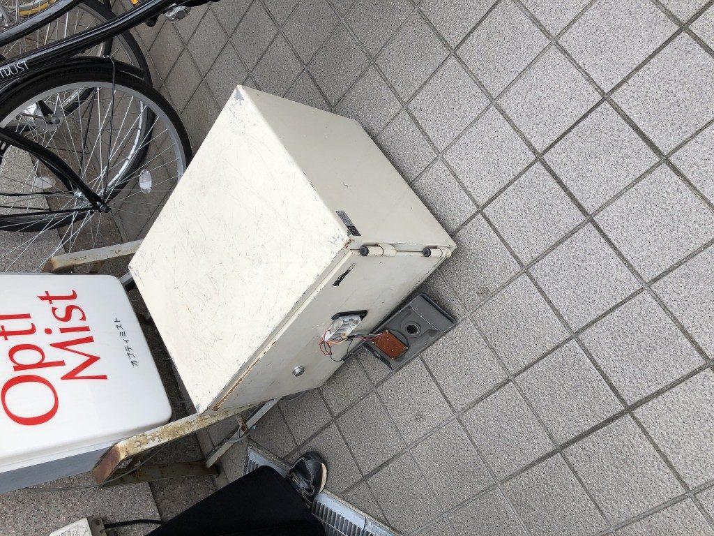 【日高市】事務所の耐火金庫の回収