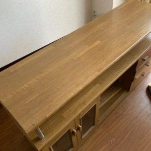 【熊谷市】ダイニングテーブル、テレビ台の回収☆作業の迅速さにご満足いただけました!