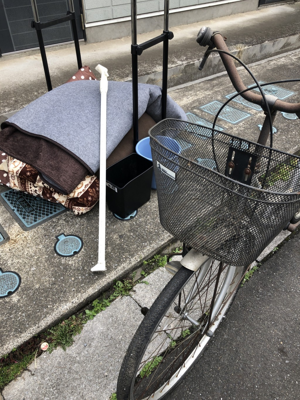 【戸田市】カーペット、自転車、布団などの出張不用品回収・処分ご依頼 お客様の声