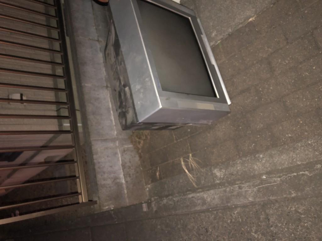 【北本市】ブラウン管テレビの不用品回収処分 お客様の声