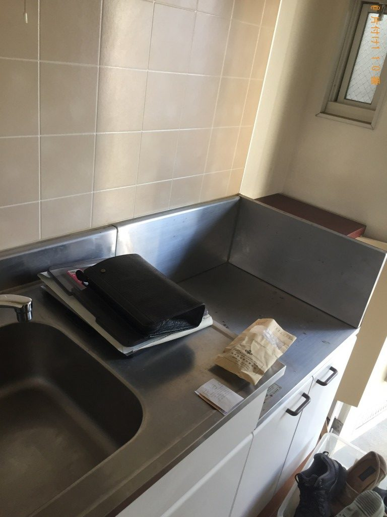 【越谷市東柳田町】冷蔵庫、電動ベッド、細々した物の回収・処分