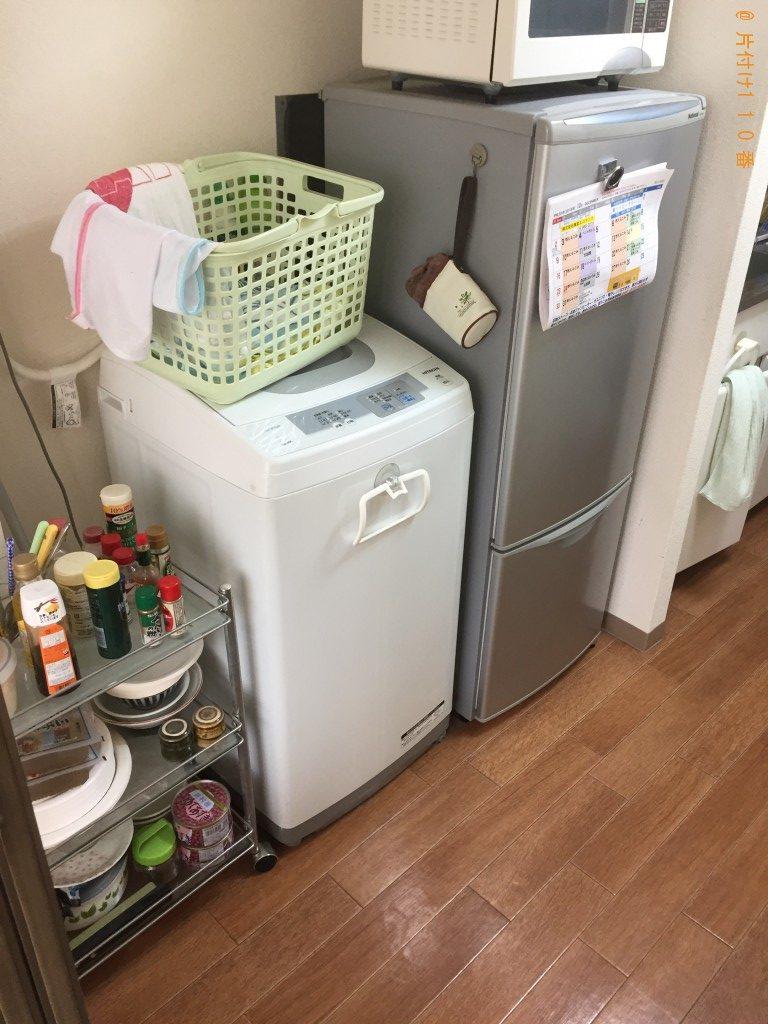 【志木市】冷蔵庫、電動ベッド、細々した物の回収・処分