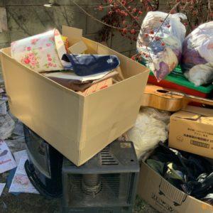 【東松山市松葉町】衣類、トロフィー、鍋類、細々した物の回収・処分