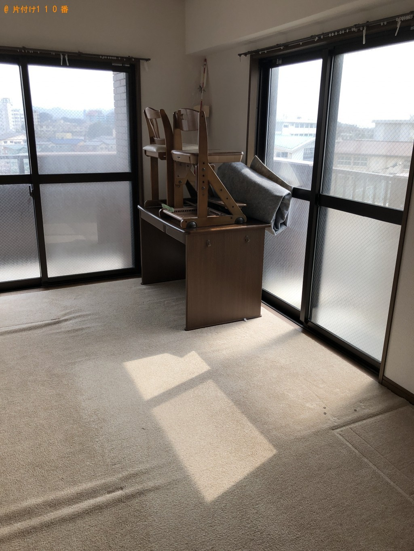 【川越市】遺品整理に伴いクローゼット、回転いす、カラーボックス等の回収