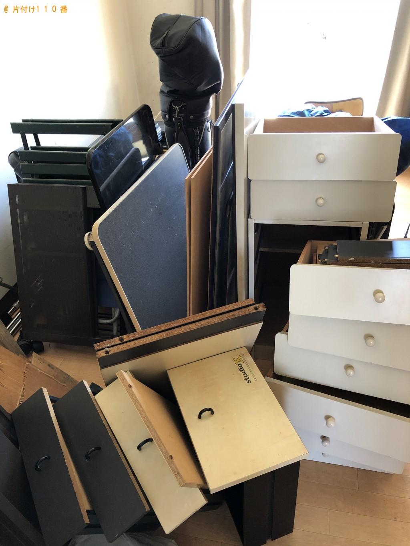 【川越市】遺品整理で本棚、PCデスクの回収・処分ご依頼 お客様の声