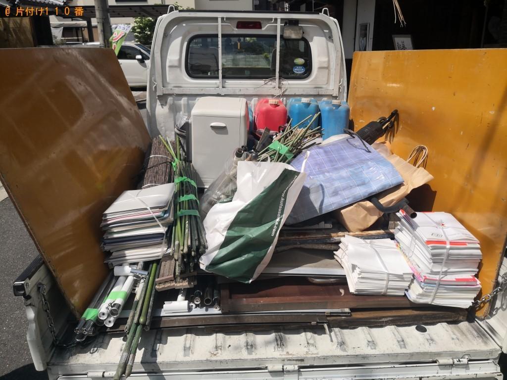 【富士見市】ガーデニングの柵、ポリタンク、ポリバケツの回収