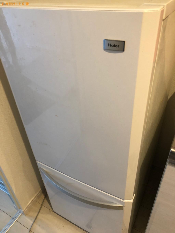 【八潮市】冷蔵庫、洗濯機、本棚、食器棚、シングルベッド等の回収