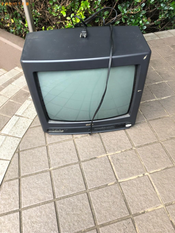 【入間郡三芳町】ブラウン管テレビの回収・処分ご依頼 お客様の声