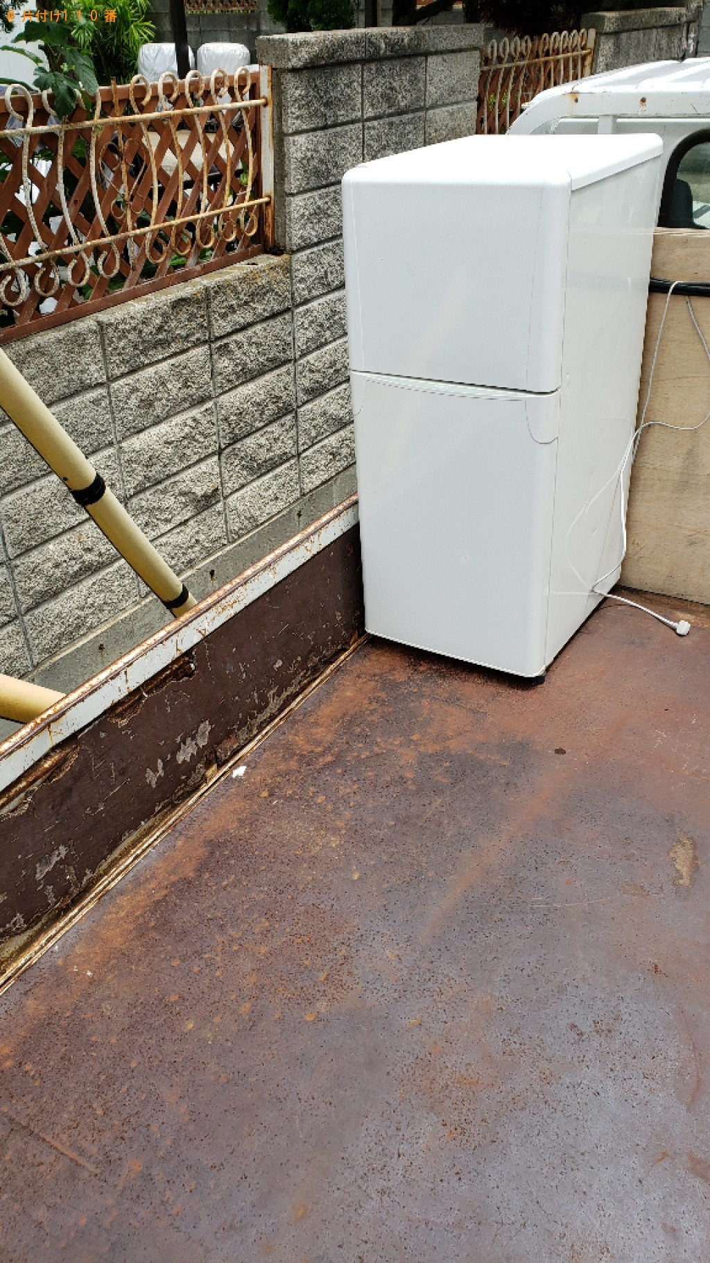 【三郷市】冷蔵庫の回収・処分ご依頼 お客様の声