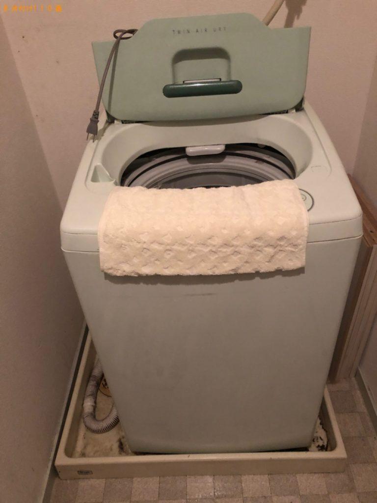【朝霞市】洗濯機の回収・処分ご依頼 お客様の声