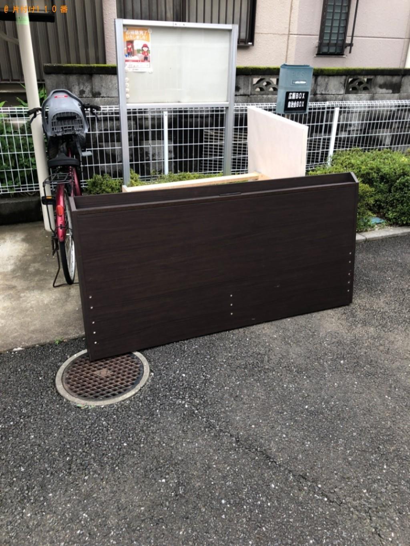 【桶川市】クイーンサイズベッドの回収・処分ご依頼 お客様の声