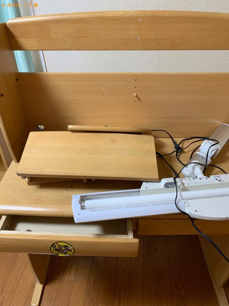 【本庄市】本棚、学習机の回収・処分ご依頼 お客様の声