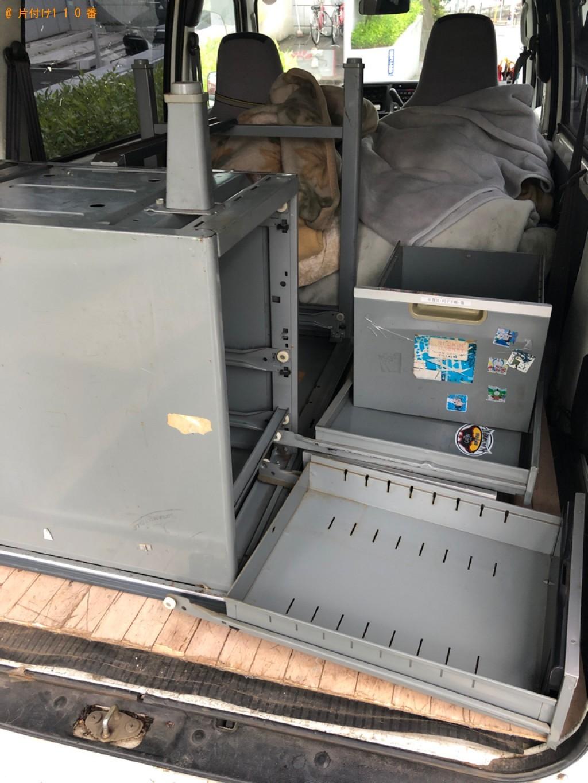 【久喜市】業務用机の回収・処分ご依頼 お客様の声