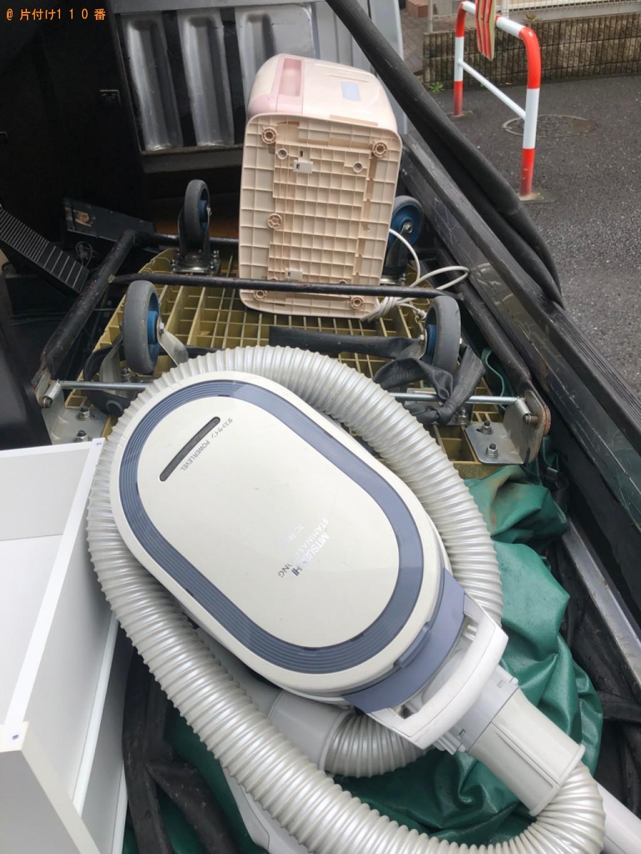 【蕨市錦町】テレビ台、4段チェスト、掃除機、空気清浄機等の回収
