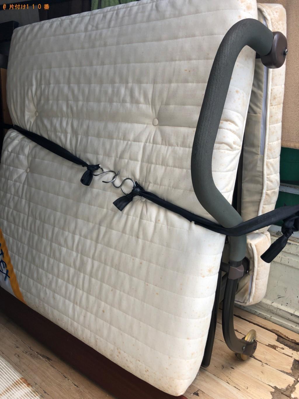 【所沢市寿町】タンス、電動ベッド、衣装ケース、布団の回収・処分