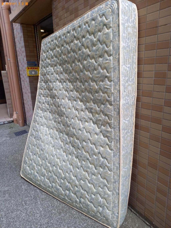 【埼玉県浦和区】ダブルベッド、ベッドマットレスの回収・処分
