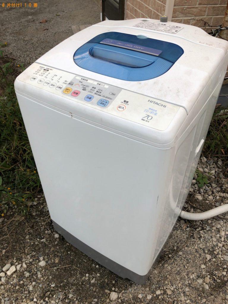 【白岡市】洗濯機の回収・処分ご依頼 お客様の声