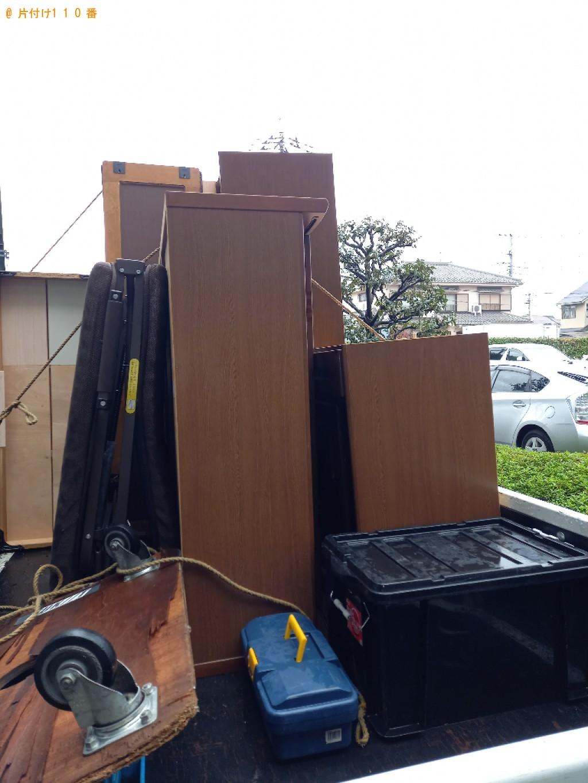 【八潮市】クローゼット、食器棚、折り畳みベッド等の回収・処分