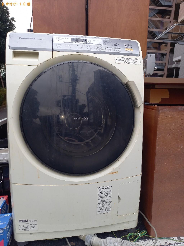 【さいたま市】遺品整理に伴いテレビ、ドラム式乾燥機付き洗濯機の回収・処分