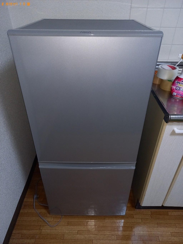 【越谷市】冷蔵庫、洗濯機、カーペット、スタンドミラー等の回収