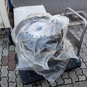 【川口市栄町】自動車タイヤの回収・処分ご依頼 お客様の声