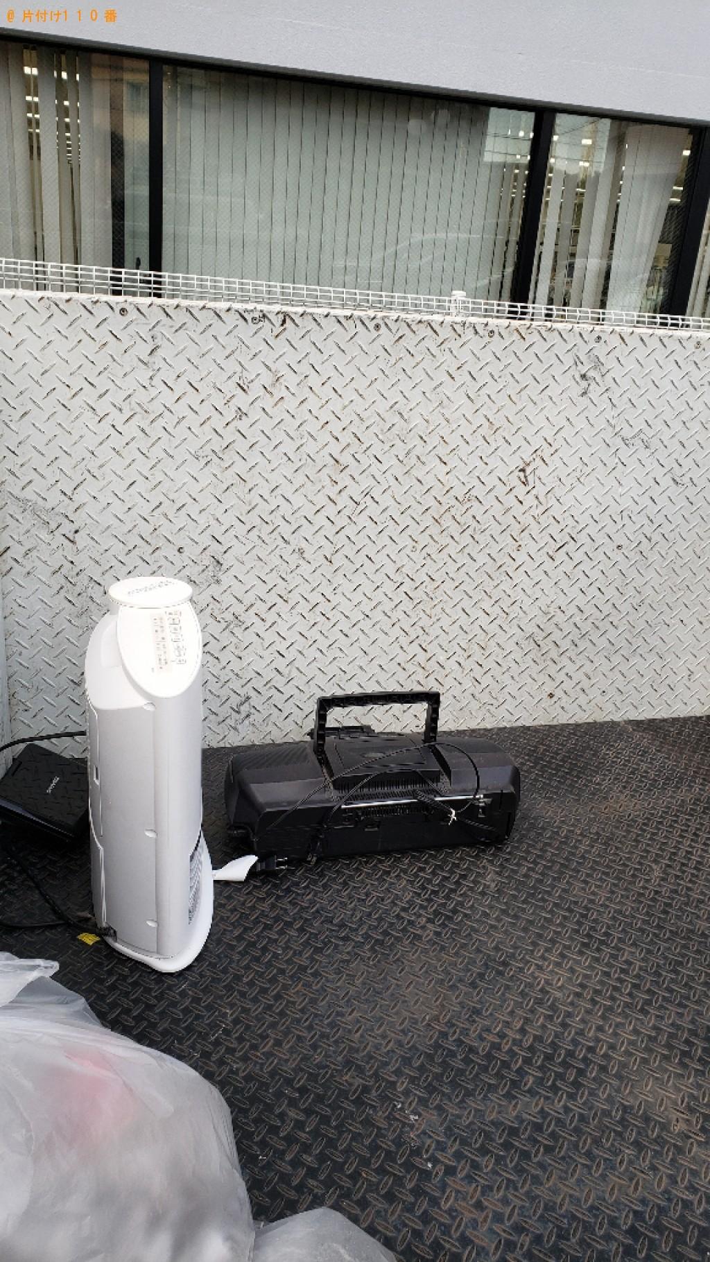 【さいたま市南区】CDラジカセ、ヒーター等の回収・処分ご依頼