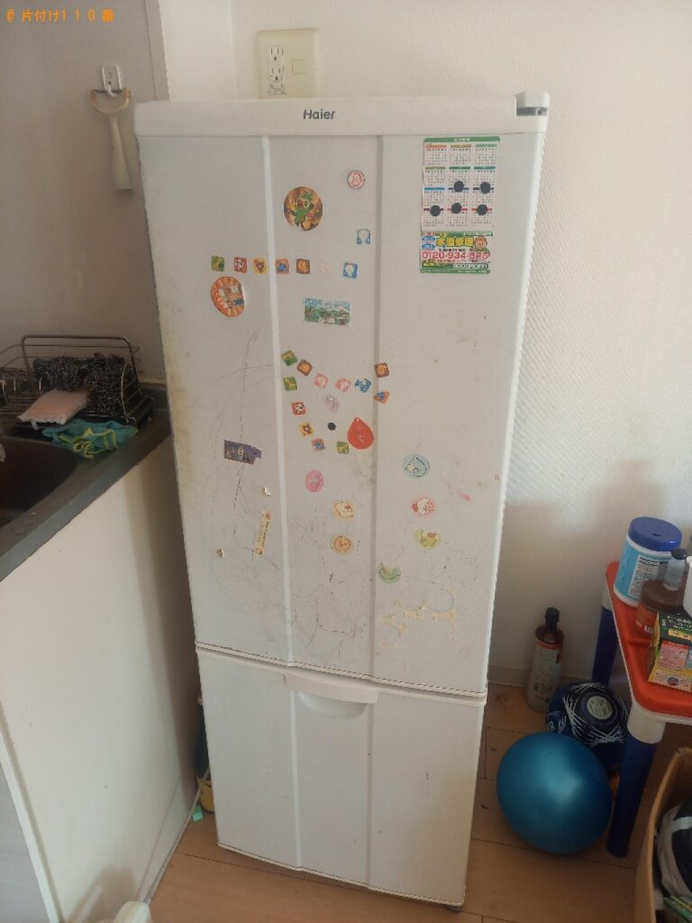 冷蔵庫、洗濯機、パソコン、ガスコンロ等の回収