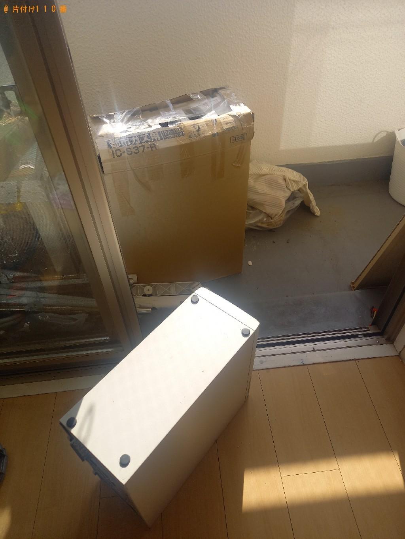 【川口市芝園町】冷蔵庫、洗濯機、パソコン、ガスコンロ等の回収