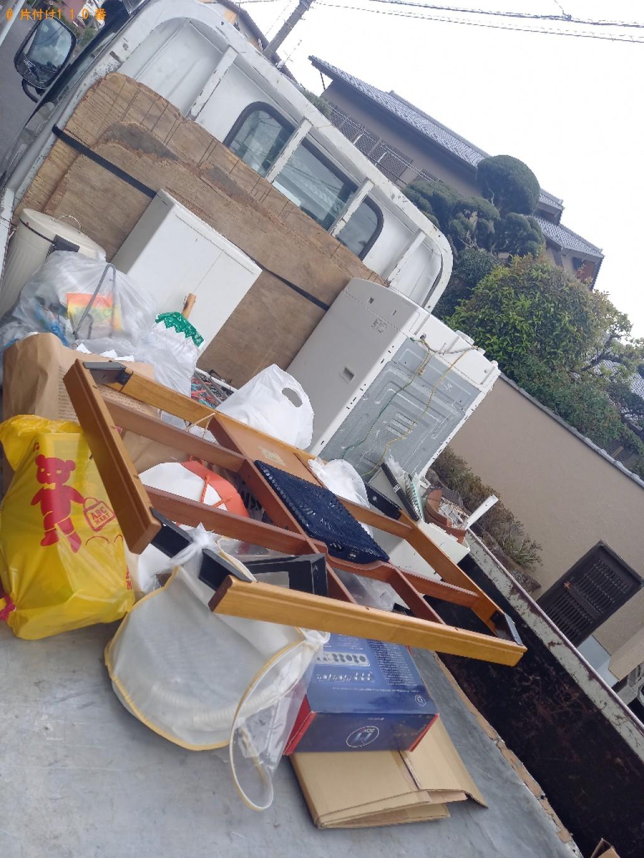 【川口市鳩ヶ谷本町】洗濯機、こたつ、一般ごみ、布団等の回収・処分