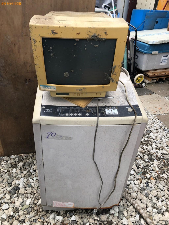 【所沢市御幸町】洗濯機、PCモニタの回収・処分ご依頼 お客様の声