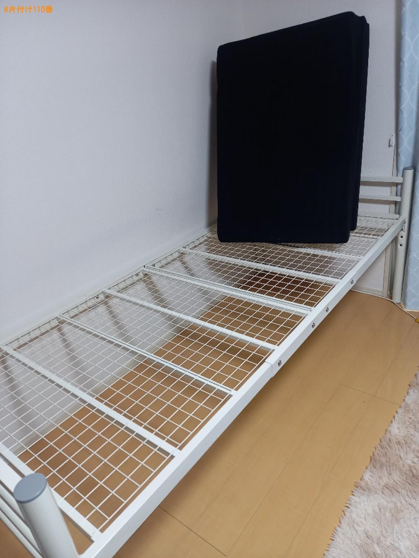 【さいたま市大宮区】マットレス付きシングルベッドの回収・処分