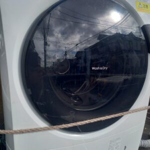 【川口市】ドラム式乾燥機付き洗濯機の回収・処分ご依頼 お客様の声
