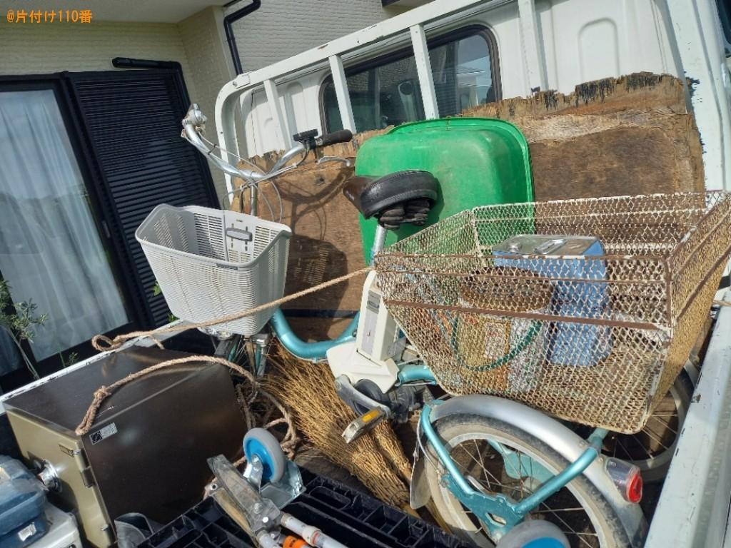 【川越市】金庫、大人用電動三輪車の回収・処分ご依頼 お客様の声